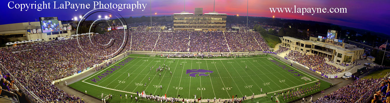 Kansas Jayhawks Football Stadium. Kansas State Wildcats football