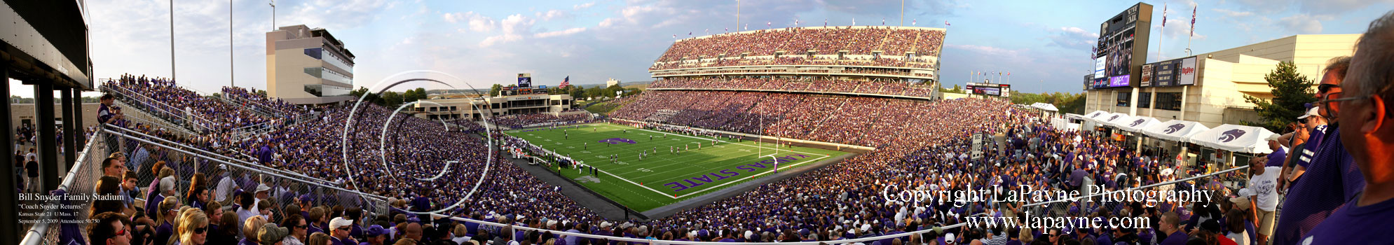Kansas State, Bill Snyder Family Stadium Panorama