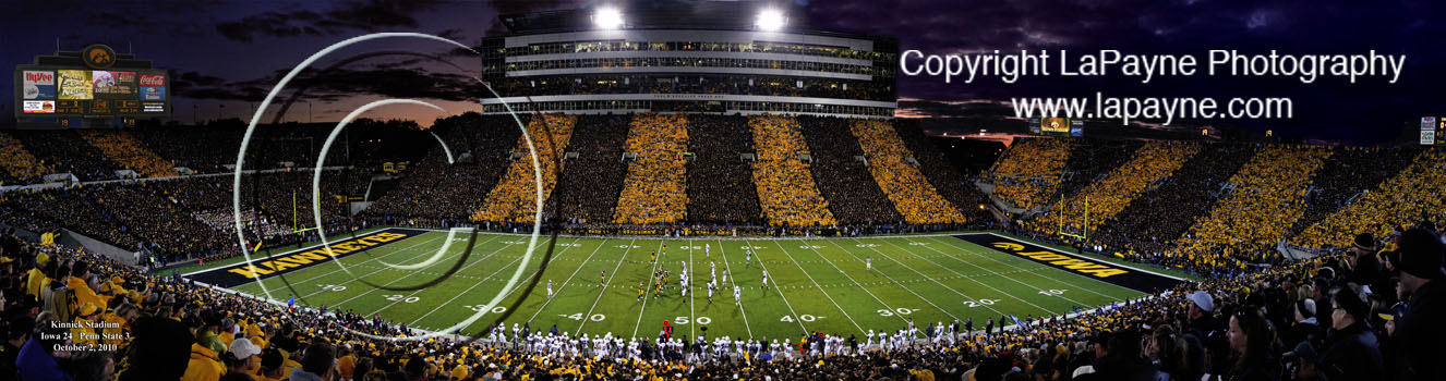 Kinnick Stadium Black & Gold Game