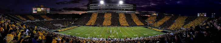 Kinnick Black & Gold Game - Midfield 48""