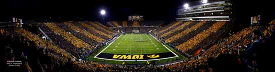 Kinnick Black & Gold Game - Hawkeyes