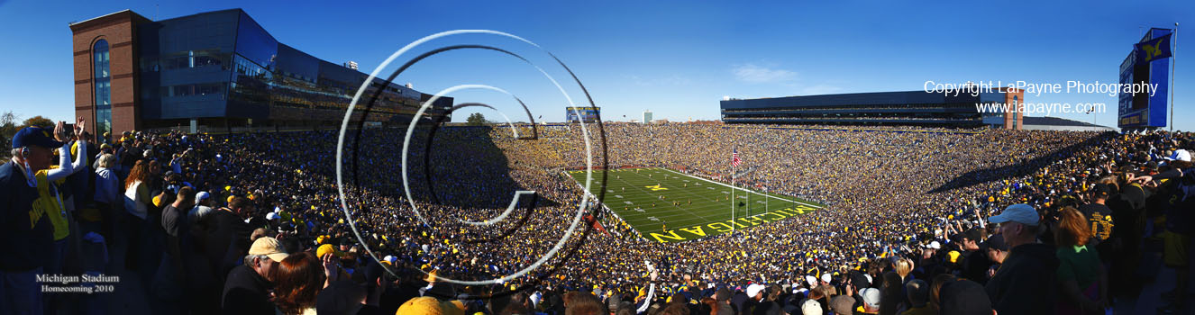 New Michigan Stadium 2010 - Corner