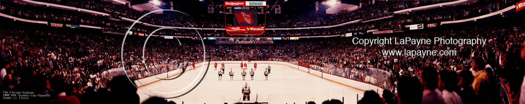 NHL 1989 Stanley Cup Playoffs Panorama