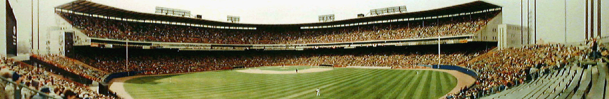 Milwaukee County Stadium Panorama