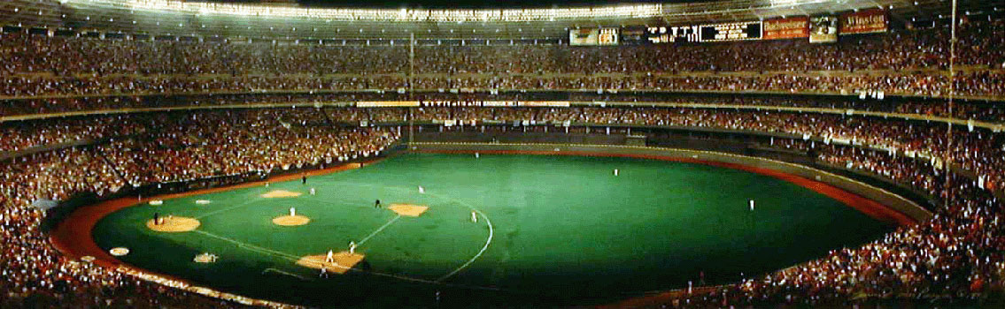Cincinnati Riverfront Stadium - short