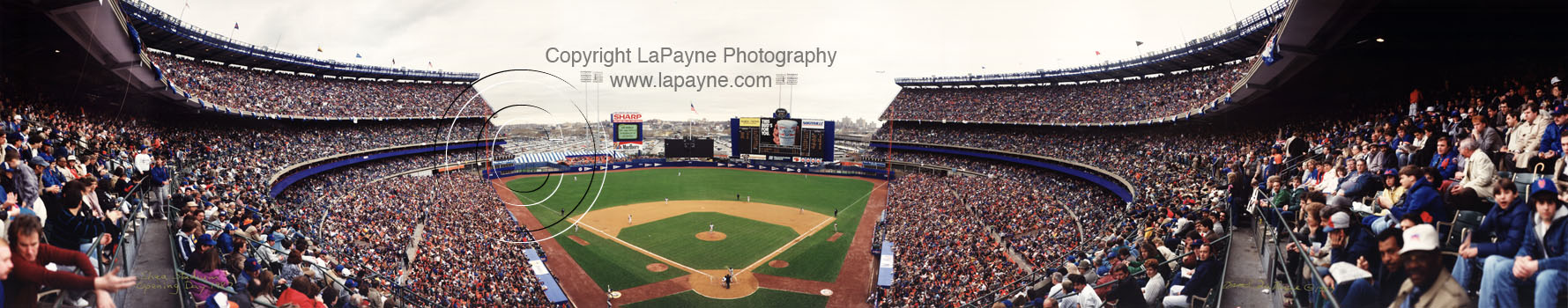 Mets Opening Day 1987 | Shea Stadium - Behind Home