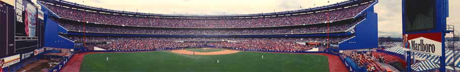 Mets Opening Day 1987 | Shea Stadium - Outfield