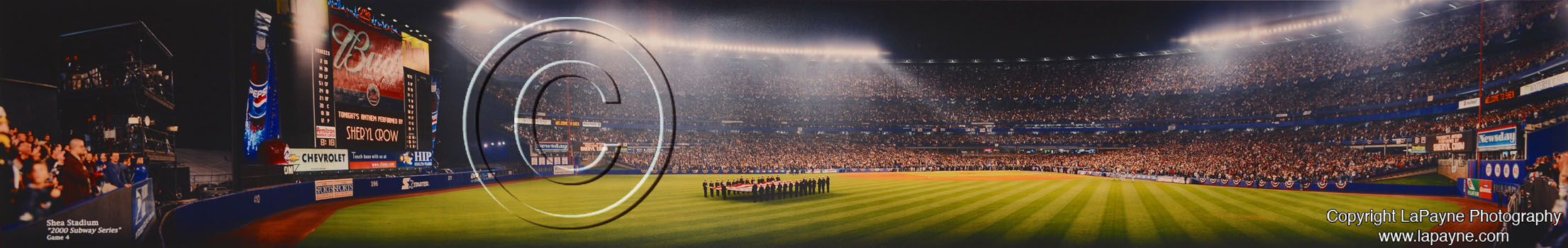 Shea Stadium | 2000 World Series - Opening Ceremonies