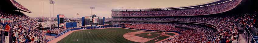 New York Mets at Shea Stadium 1986