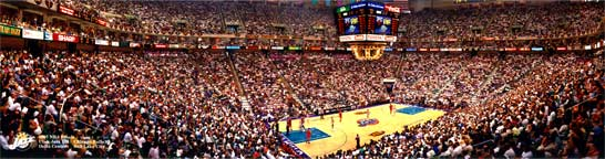 NBA Finals 1997, Delta Center Panorama