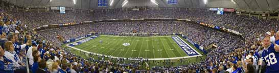 RCA Dome, Indianapolis Colts