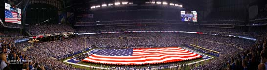 Lucas Oil Stadium 36""