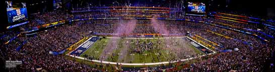 Super Bowl 46 -XLVI- 2012 - Celebration