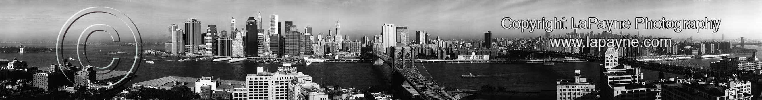 New York 2001 - B&W