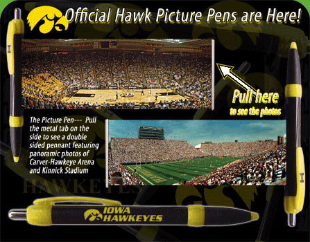 Iowa Hawk Pens 5 for $5